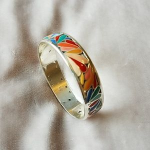 Brighton Bracelet Multicolored Enameled Design